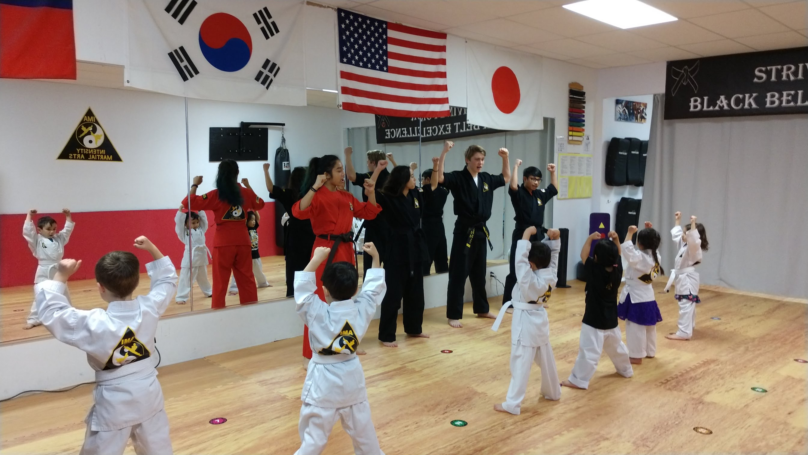 IMA's AMAZING YOUTH MARTIAL ARTS